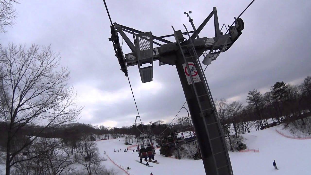 20150217 輕井澤王子滑雪場 - YouTube