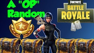 Fortnite Battle Royale w/THE SQUAD FT. GODly Random (fr) (pré CHUG JUG PATCH) Crazy Sniper tue