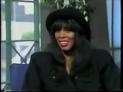 Donna Summer - UK Pebble Mill 1989