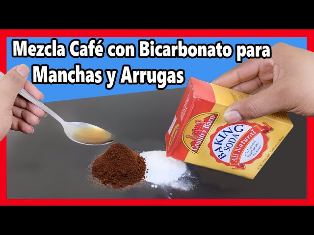 Si Mezclas CAFÉ con BICARBONATO tus Amigas te lo van a Agradecer cuando se lo Cuentes!