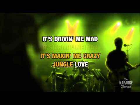Jungle Love in the style of Steve Miller Band | Karaoke with Lyrics