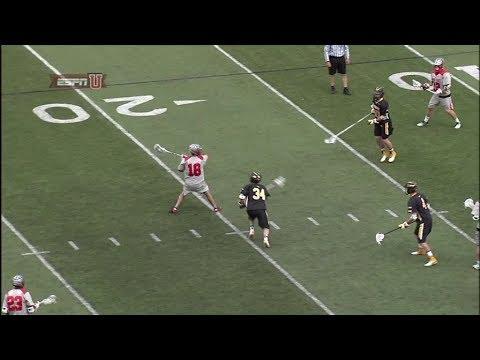 Ohio State's Schuss scores against Towson zone defense