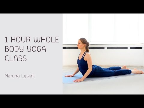1 Hour Whole Body Yoga Class