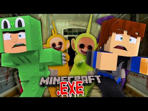 THE NEIGHBOR MAKES EVIL TELETUBBIES  EXE - Minecraft Adventure W