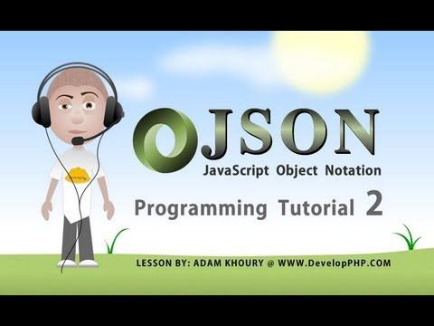 json tutorial for beginners learn how to program part 2 Ajax JavaScript