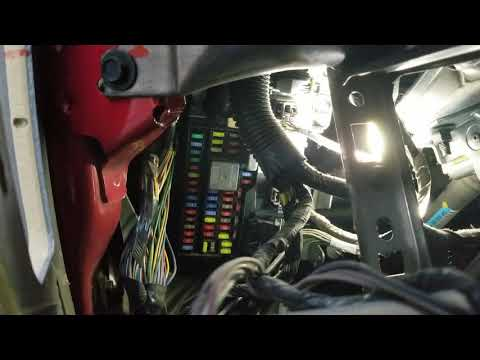 Ford fusion fuse box access