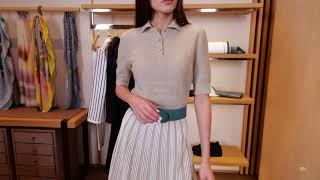 Новая коллекция Loro Piana Женский образ Фирменный бутик в Лакшери Store Тренды платья 2020