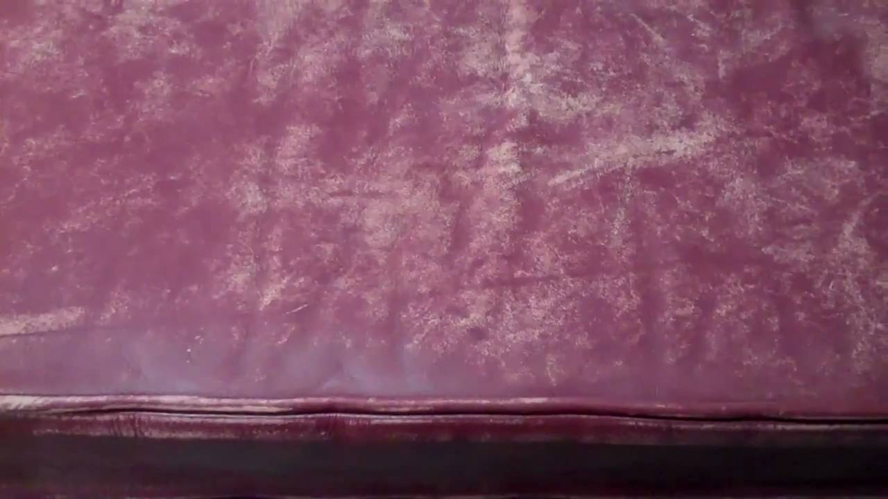 Kirstin M. Cat Scratched Leather Sofa Restoration By All Cou   YouTube