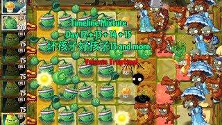 I wish I had the Volcano Background now | Plants vs Zombies 2: Timeline Mixture