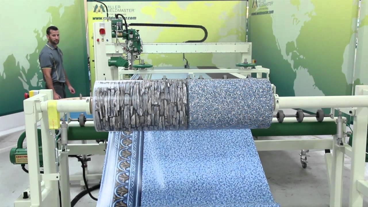 Pool Liner Manufacturing I Hot Wedge Welding Machine