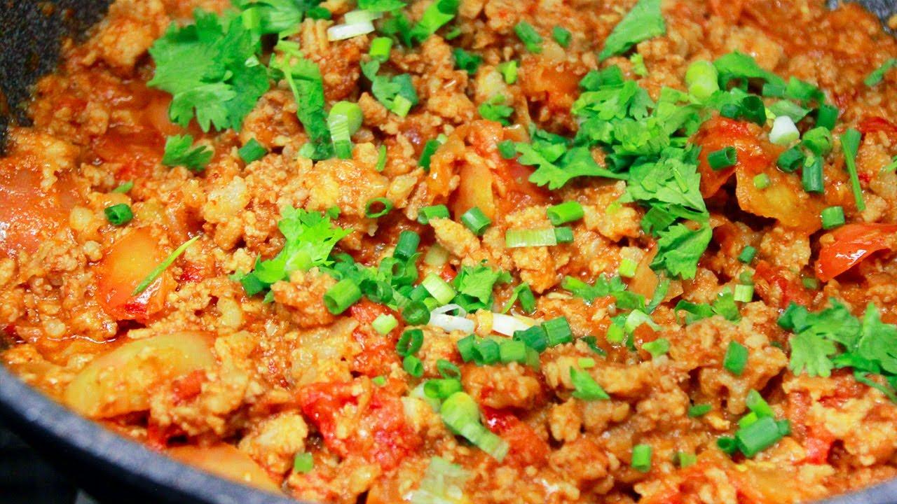 น้ำพริกอ่อง สูตรภาคเหนือ ใช้ถั่วเน่าหอมๆ ทานกับผักสดๆอร่อยมาก Nam Prik Ong l กินได้อร่อยด้วย
