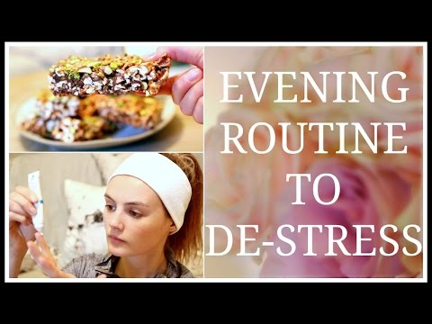 My Evening Routine to De-Stress | Niomi Smart AD