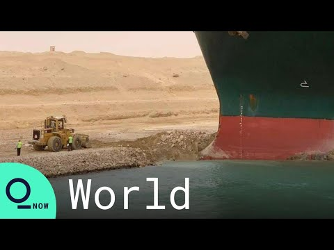 Ever Given, the Giant Ship Blocking Suez Canal, Paralyzes Trade for Second Day