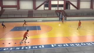 Entrenamiento de futbol sala