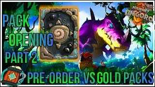 Hearthstone : Pack Opening day 60 more packs to go Part-2 Journey to Un