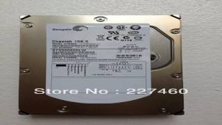 Seagate 73GB 15000rpm Cheetah 15K.5 68 Pin SCSI Internal Hard Drive ST37345