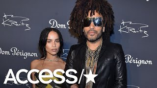 Lenny Kravitz Reveals How He Feels About Daughter Zoë Working With His Ex-Fiancée Nicole Kidman Video