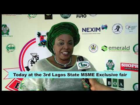 Lagos State Ministry of Commerce MSME Fair