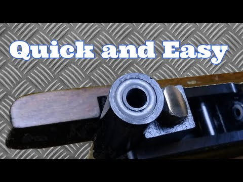 How to change an air rifle breech seal