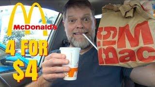 McDonalds 4 for $4 Mukbang