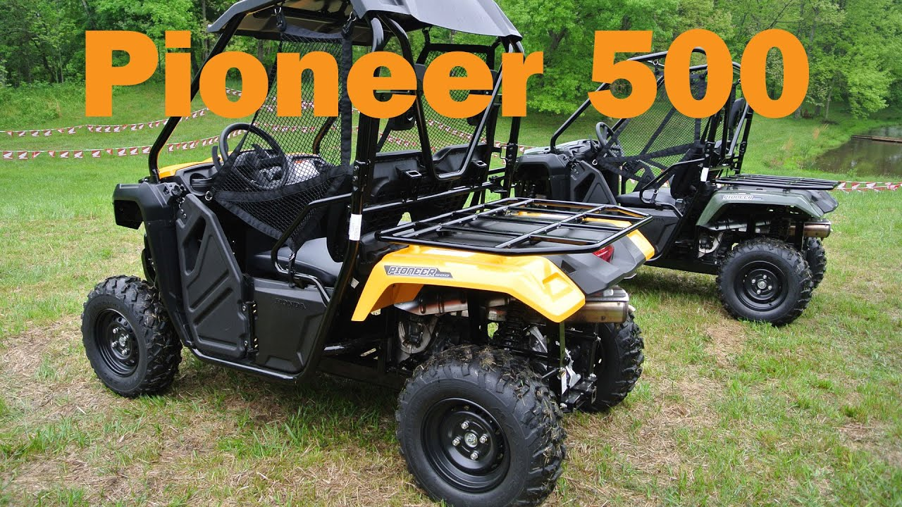 2016 Honda Pioneer 500 Test Drive First Impressions