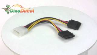 IDE to SATA Splitter Power Cable Connector  from Dinodirect.com
