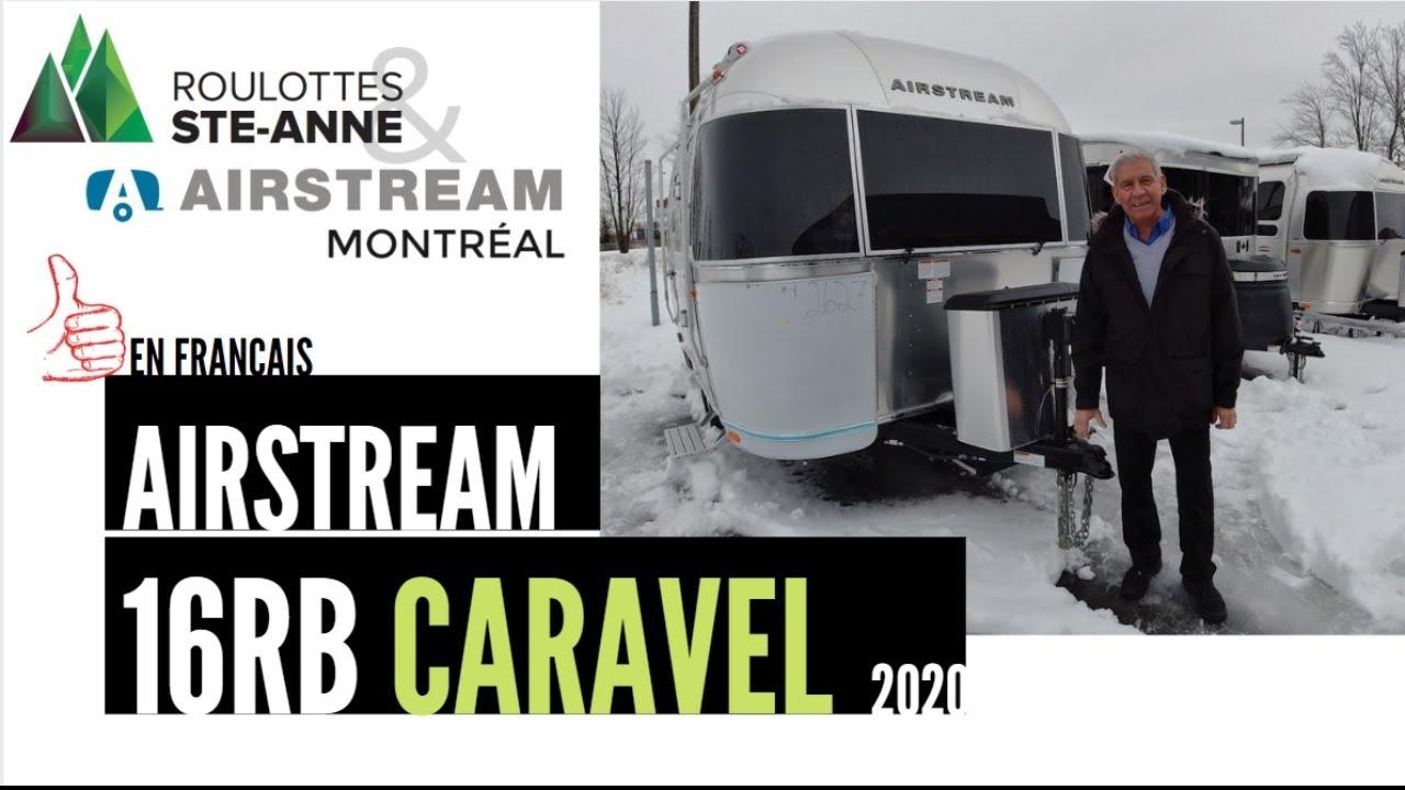 Airstream 16RB Caravel 2020 chez Airstream Montreal