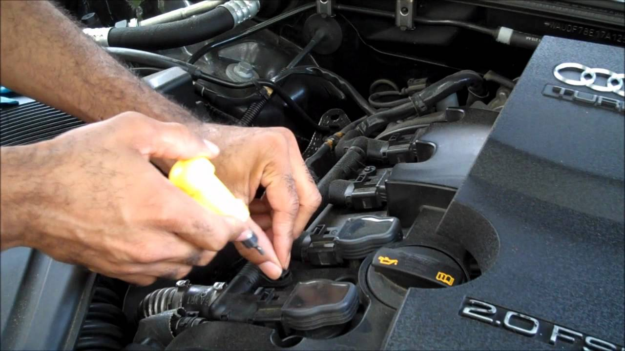 maxresdefault changing audi ignition coils youtube  at bakdesigns.co