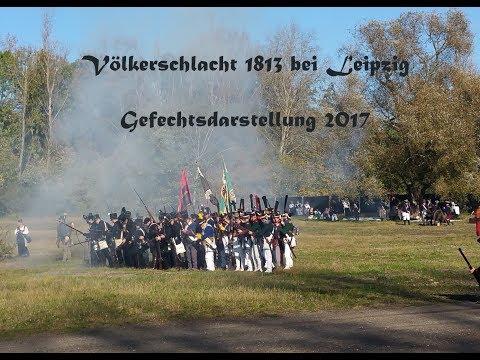 Völkerschlacht 1813 Gefechtsdarstellung in Leipzig / Markkleeberg 2017