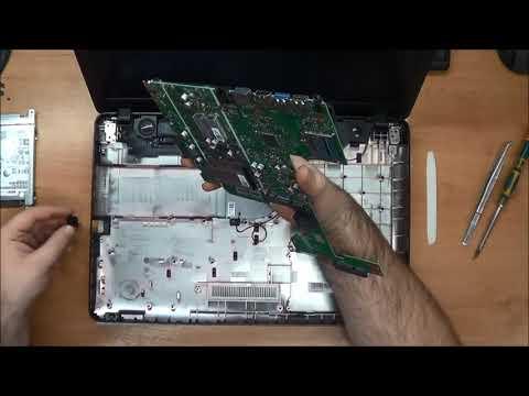 Как разобрать и собрать ноутбук ASUS X541SC