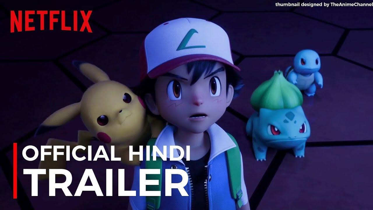 Pokemon Mewtwo Strikes Back Evolution Hindi Official Trailer Netflix India Youtube