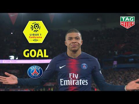 Goal Kylian MBAPPE (45' +2) / Paris Saint-Germain - Olympique de Marseille (3-1)(PARIS-OM)/2018-19