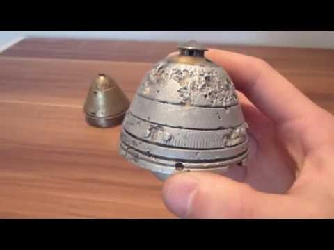 WW1 Russian 75mm artillery shell fuse