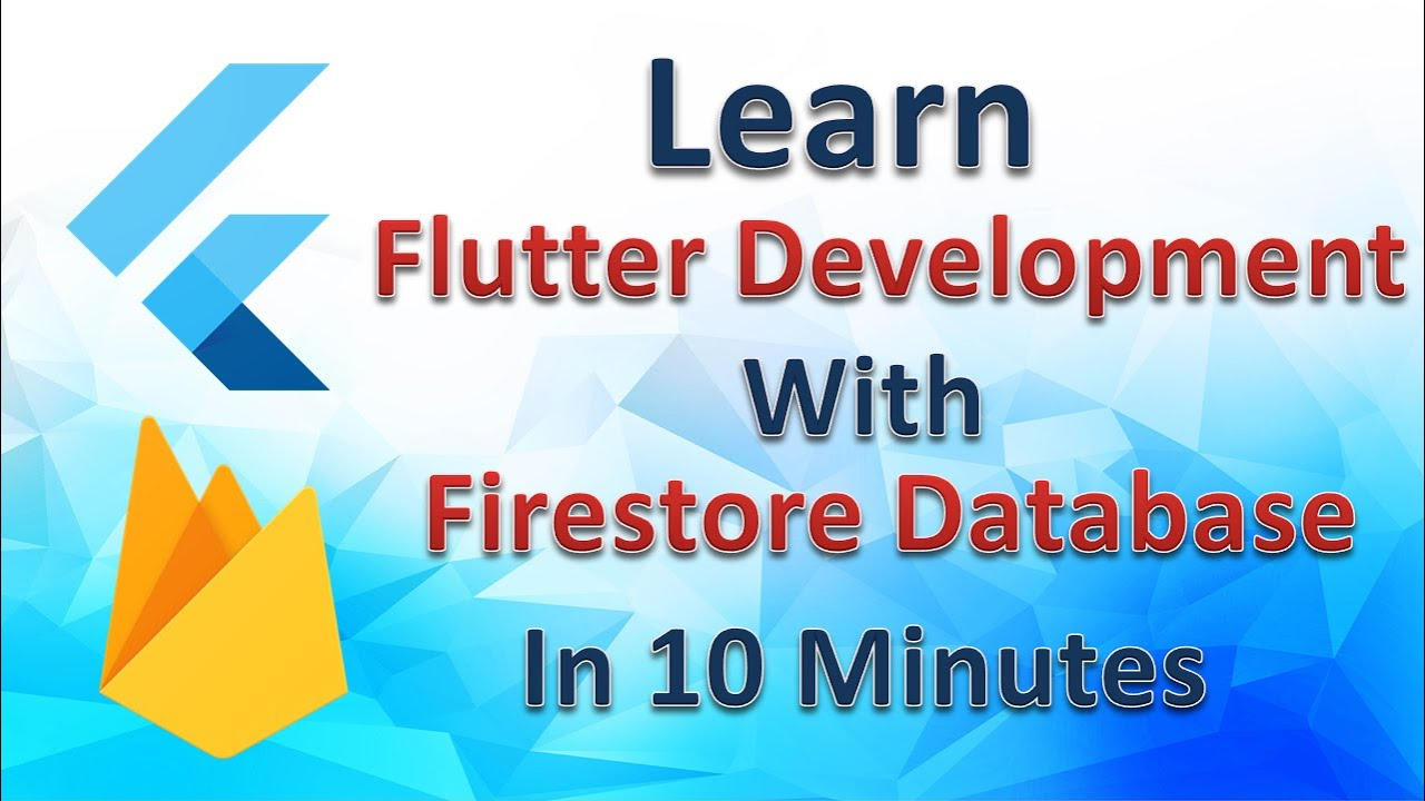 Learn Flutter Development With Firestore Database   Flutter Tutorial   Flutter Agency