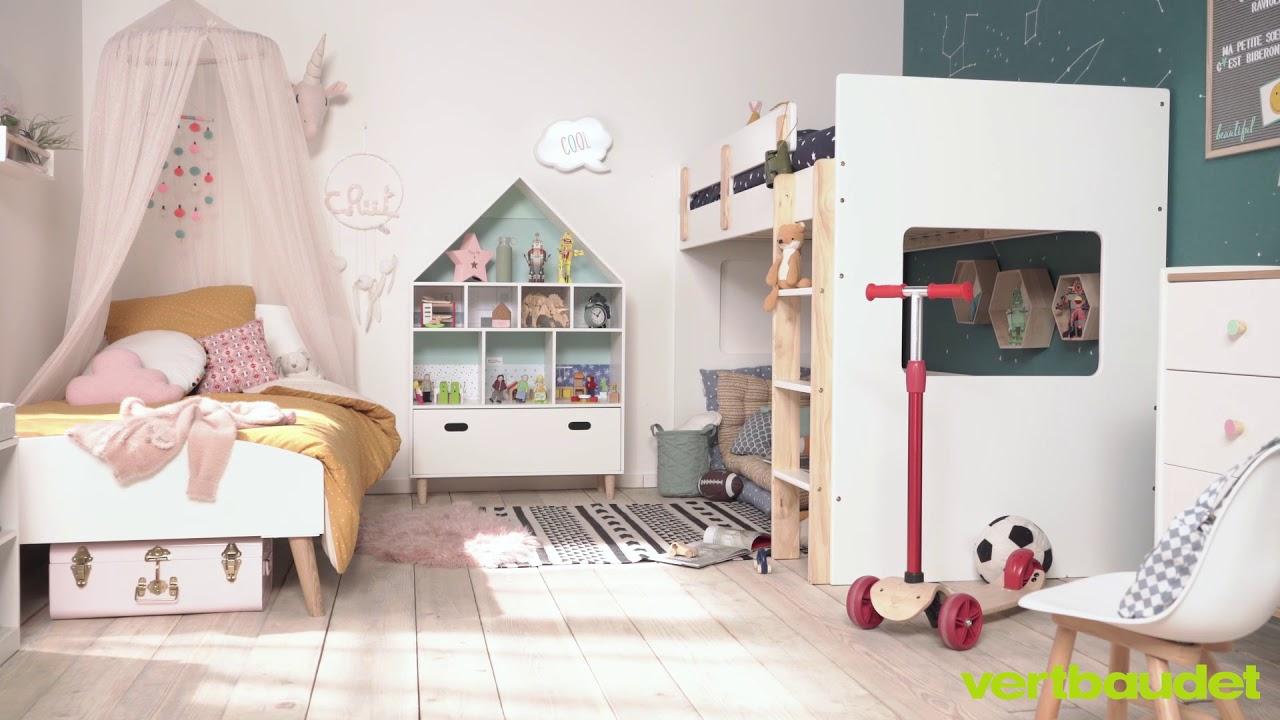 VERTBAUDET - Aménager 1 chambre pour 2 grands enfants - YouTube