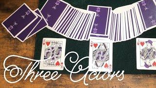 【カードマジック】3人の役者 考案: ホァン・タマリッツ