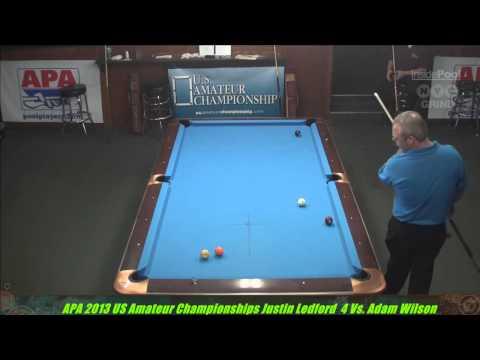 2013 APA US Amateur Championship Justin Ledford VS  Adam Wilson