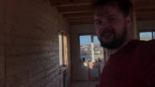 Дом Андрюхи из газосиликата #3. Строим своими руками. утепление пола керамзитом