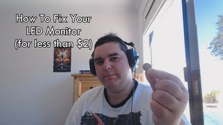 How To Fix A Scratched LED Monitor (for less than $2)