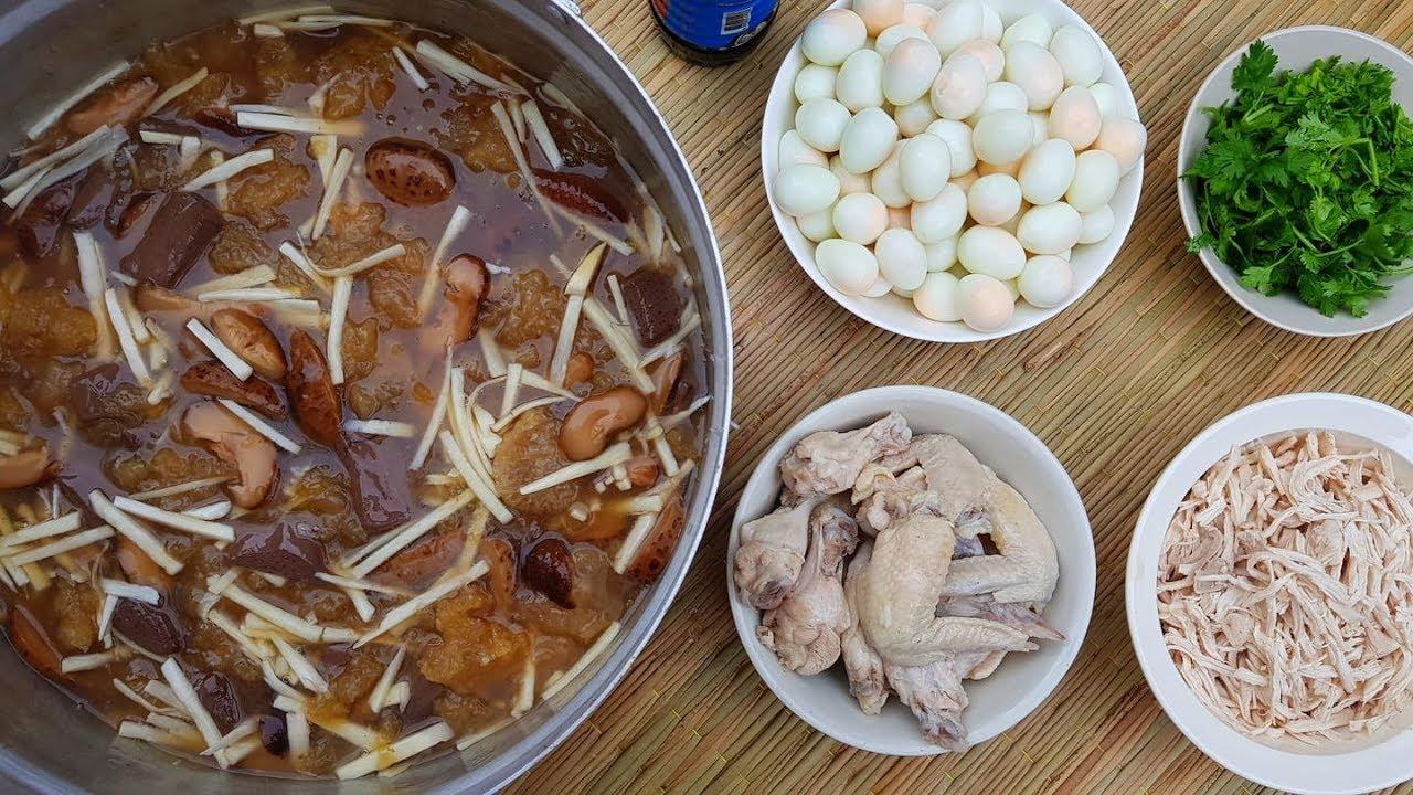 กับข้าวกับปลาโอ 541 : กระเพาะปลาน้ำแดง แม่ชอบกิน จัดให้แม่หม้อใหญ่ๆ Braised Fish Maw in Red Gravy