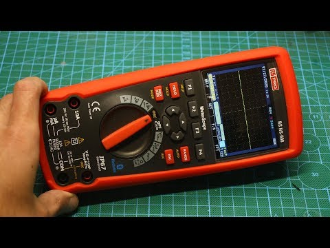Самый НАВОРОЧЕННЫЙ мультиметр - RS HS608