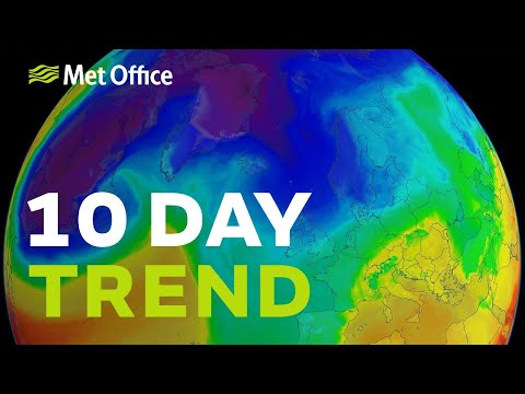 10 Day Trend - Following Storm Eleanor, winter bites back