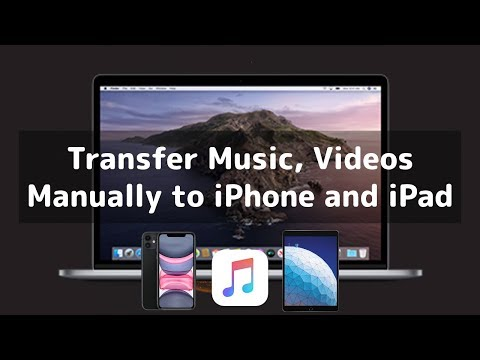 How to Transfer Music, Videos to iPhone, iPad in macOS Catalina?