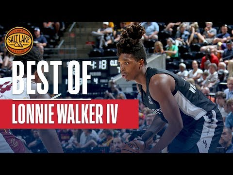 Best Plays from Lonnie Walker IV | 2019 Salt Lake City Summer League