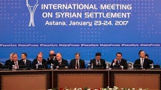 Первый день переговоров по Сирии в Астане пока не принес результатов