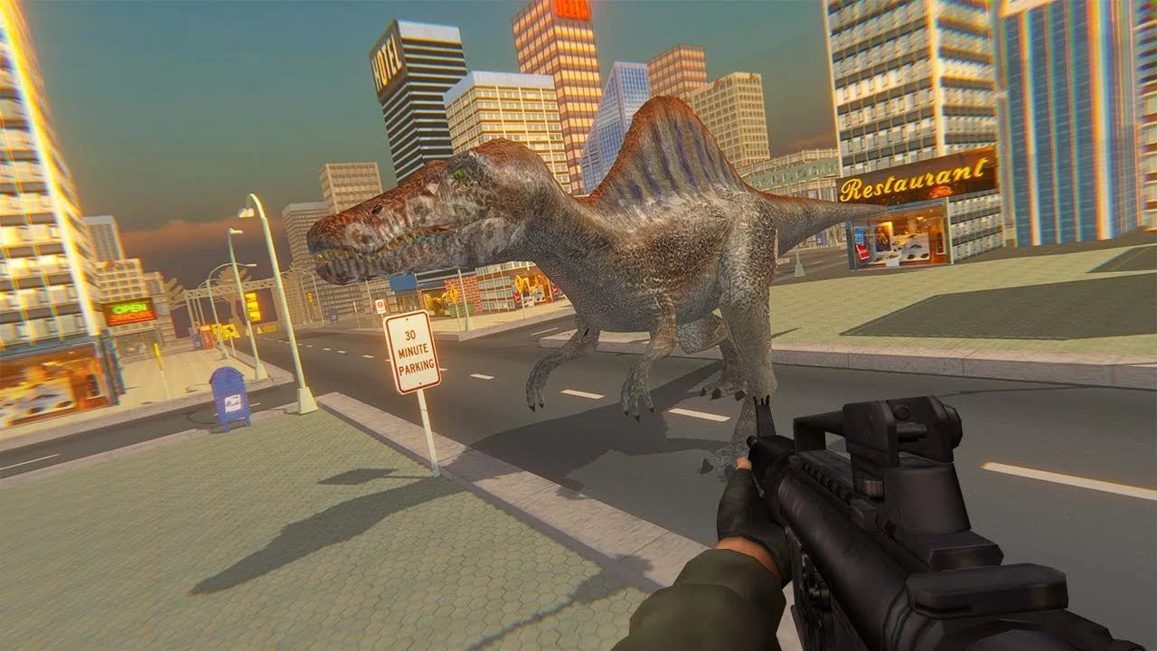 Dino Fps Shooter – Dinosaur Shooting 2020 Android Gameplay