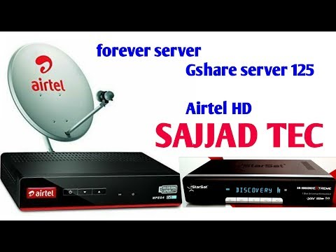 Airtel work in forever server HD SD All Channel