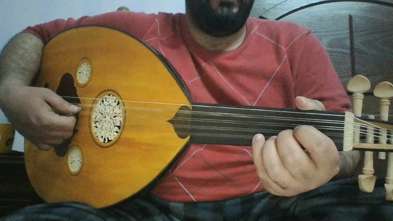 تعلم عزف موسيقى مقدمة مسلسل - قيامة ارطغرل - على العود للمبتدئين بالتفصيل