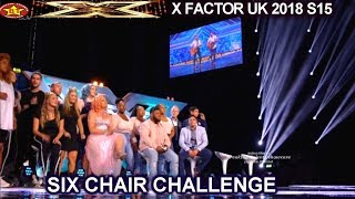 First Six Chairs The Groups | Six Chair Challenge X Factor UK 2018