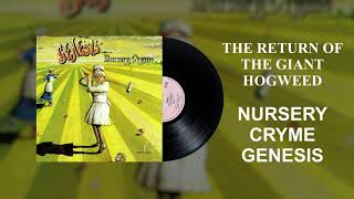 Genesis - The Return of the Giant Hogweed (Official Audio)